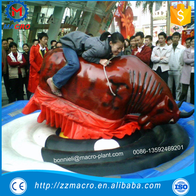 inflatable bull riding machine for adults
