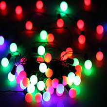10m High Quality RGB Color Changing Christmas 100 LED Solar Light Led String