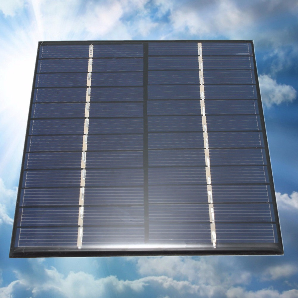 2W 12v Mini Polycrystalline Silicon Customized Design Solar Panels PV Solar Module Customized