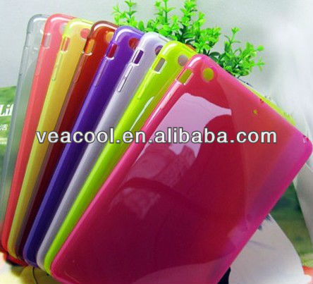 "Soft Rubber TPU Matte case cover For Apple Ipad MINI 7""tablet"