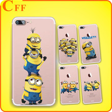 Cartoon Despicable Me 2 Minions Case For Samsung Galaxy C9 Pro TPU Transparent Silicone Cell Phone Back Cover for Huawei Mate 9