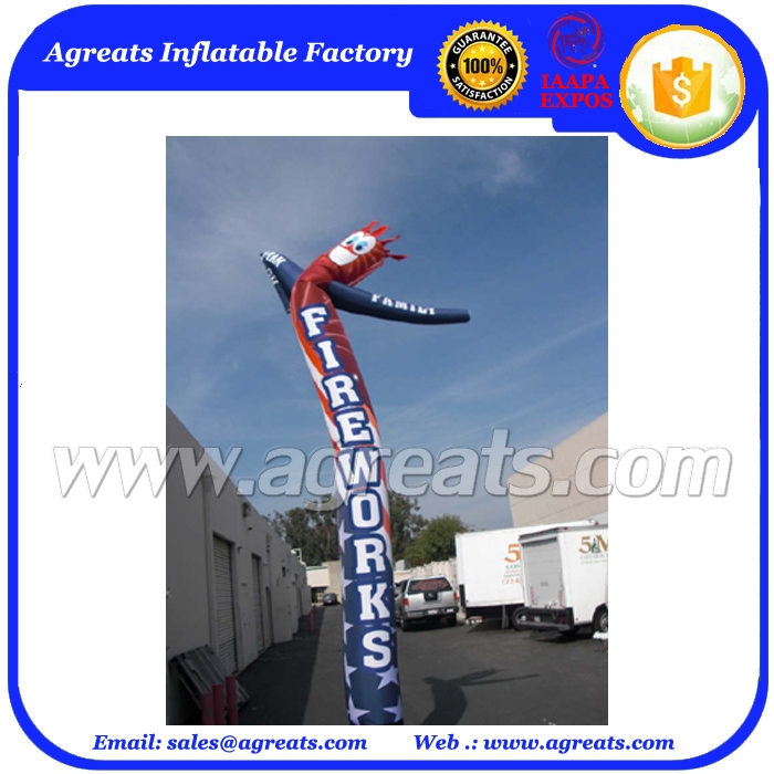 Business Promotion Inflatable Sky Dancers Tube Man Advertising for Party Used S4043