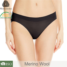 black lady underwear, merino wool woman underwear, Translucent sexy women panties