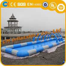 Blue inflatable swimming pool , kids inflatable pool , pool intex inflatable