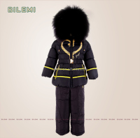 kids branded clothing set for winter