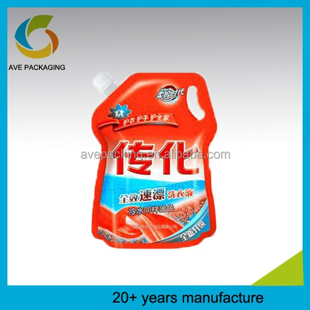 More than 20 years manufacture plastic laminated shampoo pouch