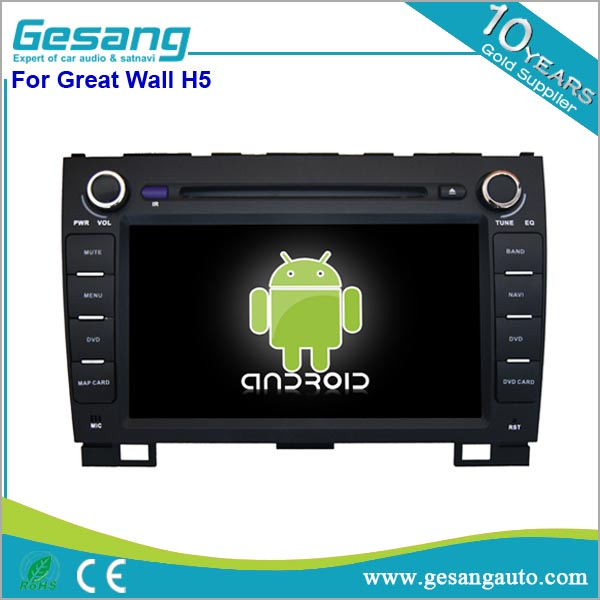 Factory price dashboard placement android car dvd player with gps 4g/wifi/reverse camera for Great Wall H5