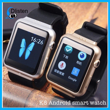 wholesale Android smart watch bluetooth watch K8 smart watch For samsung galaxy gear