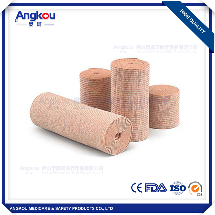 Spandex Crepe Elastic Bandage latest products in market CE FDA approval