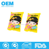 Mini organic baby japanese wet wipes