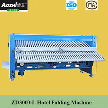 AOZHI hotel bed sheets folding machine for sale factory best price