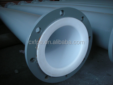teflon lined carbon steel pipe