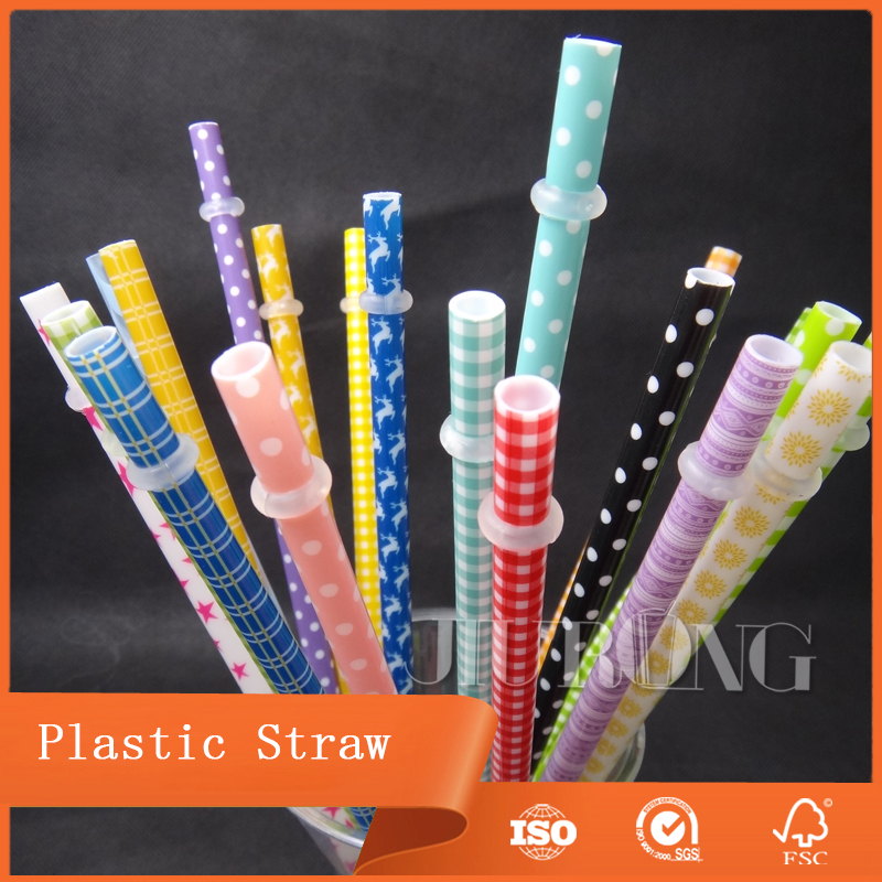 Disposable Hard Plastic Straws Reusable Plastic Straw
