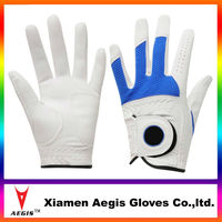 summer OEM wholesale custom colored cheap cabretta leather golf gloves