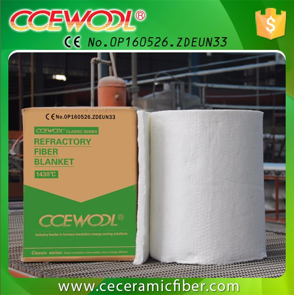 Shandong Double Sides Needled Ceramic Fiber Blanket