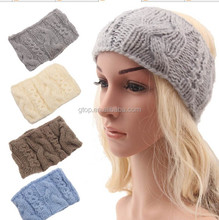 NEW fashion wool twist cable knit knitting hair Headbands head wrap
