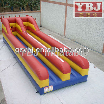 competitive inflatable bungee game sports