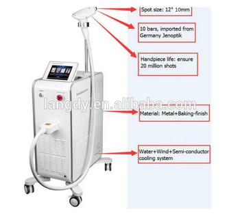 Good Quality 808 diode laser hair removal price With Promotional Price