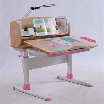 GMYD Height Adjustable Study Desk Study Table for Children