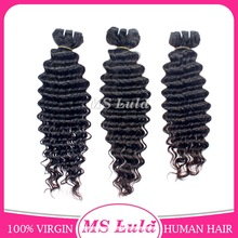 Natural color and double weft virgin brazilian hair,brazilian remy hair