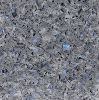 Yunfu Various Colors Zircon Quartz stone Manufactured BLUE table top