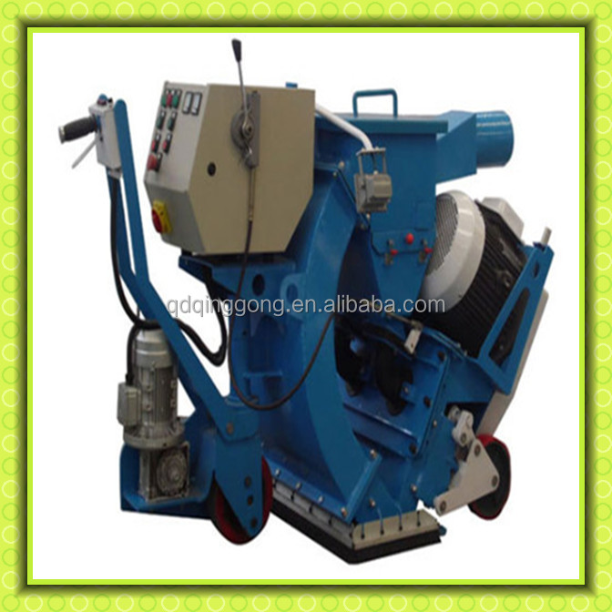 Horizontal Move Cleaning Concrete Floor Shot Blasting Machine