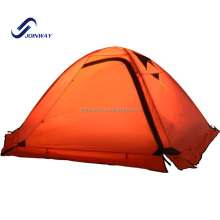 JWJ-008 New design aluminum frame ultralight 2 persons camping parachute tent outdoor
