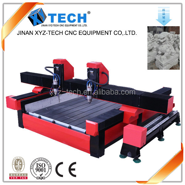 stone engraving cnc router engraving cutting machine price with cylindrical rotary axis