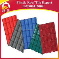 Durability Fancy Low Cost Spanish Style Roof Tiles Synthetic Resin For Roof Tiles