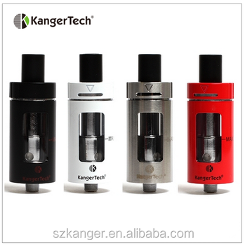 Stainless cltank from Kangertech,child lock top filling 22mm diameter 2ml/4ml Kanger cltank