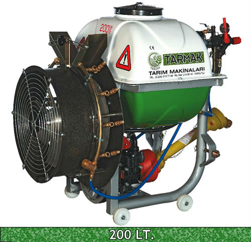TRACTOR MOUNTED MIST BLOWERS