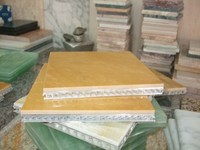 marble laminated aluminum ,super thin laminated panel