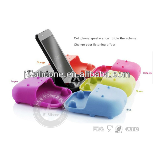 foldable mobile phone holder ,silicone mobile phone stand