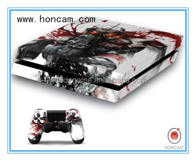 For playstation 4 Console Skin sticker, skine sticker for PS4