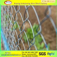 Chain Link Welded Mesh Standard Temporary Panel Fence For Sale
