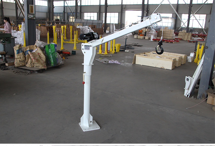 Big production ability Electric pickup truck crane