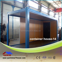 prefabricated steel frame office container
