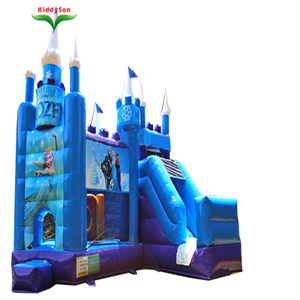 Commercial Frozen bounce house jumping bouncy castle for sale, Cartoon movie star children mini inflatable bouncer