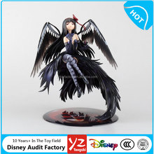 2016 hot selling 17cm black Puella Magi Madoka Magica PVC Anime girl Figures for collection