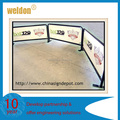 one meter wind cafe barrier windbreaker stand