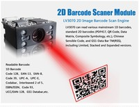 Android pda barcode laser scanner, Read barcode, RFID; with Wi-fi, Bluetooth