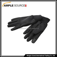 Eco-Friendly motorcycle glove black touch sensor microwave battery heated gloves