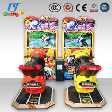 Racing car arcade game machine street motorcycle simulator