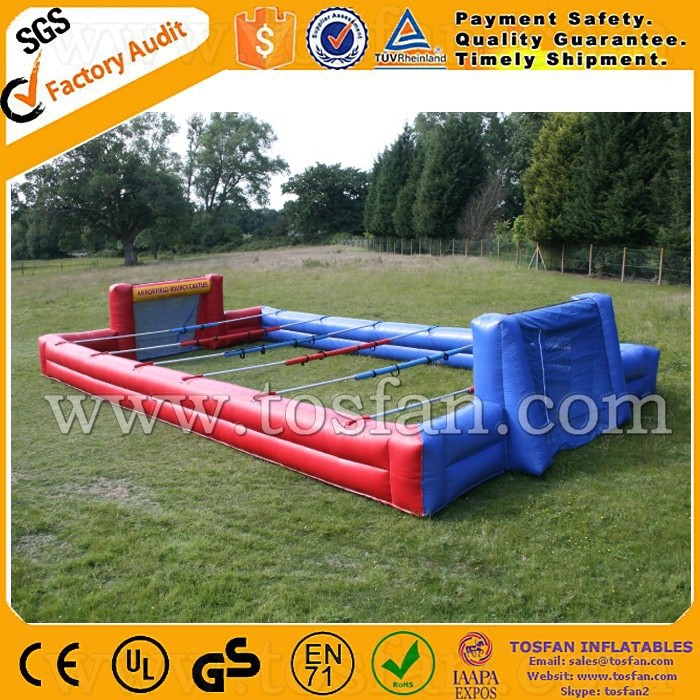 Top selling inflatable human table foosball A6024