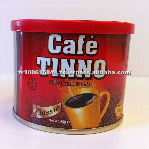 COFFEE CLASSIC - 50 GR TINS- FOR 25 CUPS -- OCCA CAFE TINNO