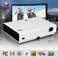 CRE Mini Mobile X3001 dual WIFI android smart 3D projector 1G 8GB dlp projector