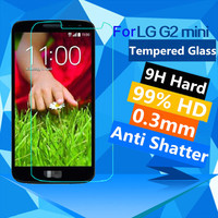 New 0.3mm HD Clear 9H Tempered Glass Anti Shatter Screen Protector Film For LG G2 Mini/ D620 protective