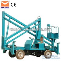 walking vehicle articulated boom lift