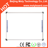 "infrared interactive whiteboard 85"" finger touch smart board wall mounting class electronic whiteboard"