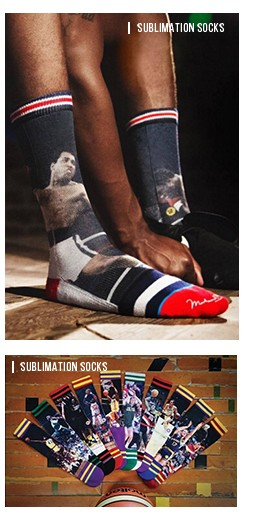 Basketball Sublimation Dri Fit Elite Socks Sports